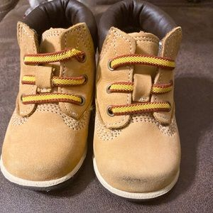 Infant Timberland boots, size 2